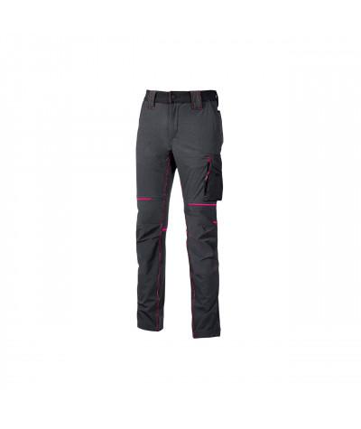 Pantalone femminile tecnico U-Power World Grey Fucsia