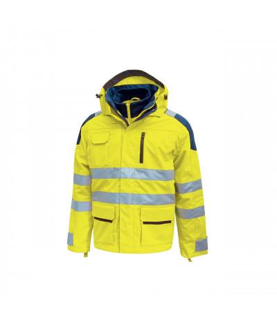 Parka anti pioggia U-Power Backer Yellow Fluo