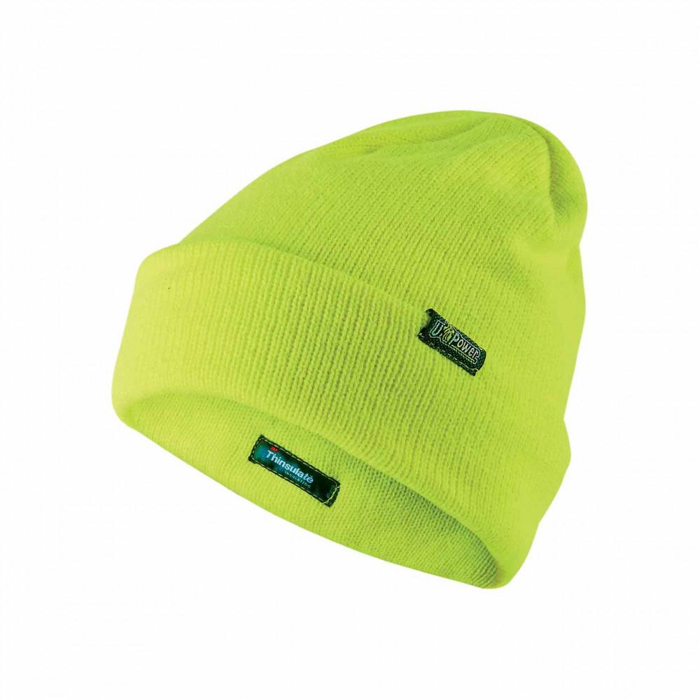 Berretto invernale U-Power One - Colore Yellow Fluo