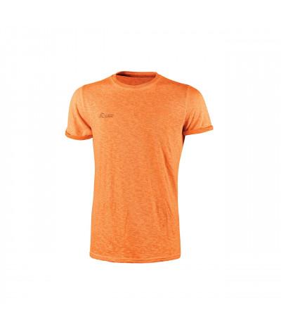 T-shirt da lavoro a manica corta U-Power Fluo Orange