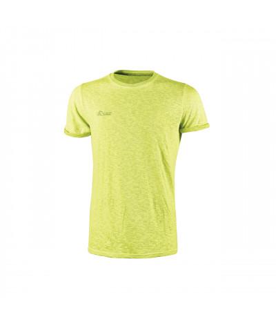 T-shirt da lavoro a manica corta U-Power Fluo Yellow