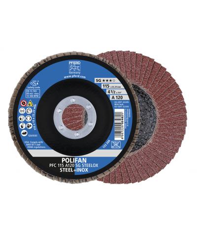Disco lamellare polifan pfc 115 a 120 sg steelox Pferd