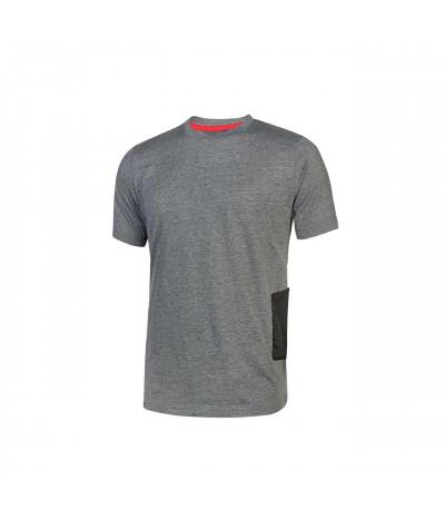 T-shirt da lavoro a manica corta U-Power Road Grey Meteorite