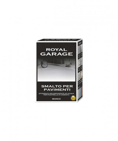Smalto per pavimenti Brava Royal Garage Bianco