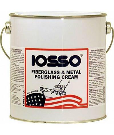 Fiberglass & Metal Polishing Cream Iosso 2 Lt