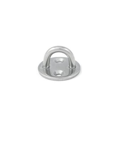 Basi tonde stampate con anello saldato aisi 304 / A2