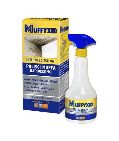 MUFFIXID - pulisci muffa rapidissimo per interni ed esterni - FAREN - larosametalli.it