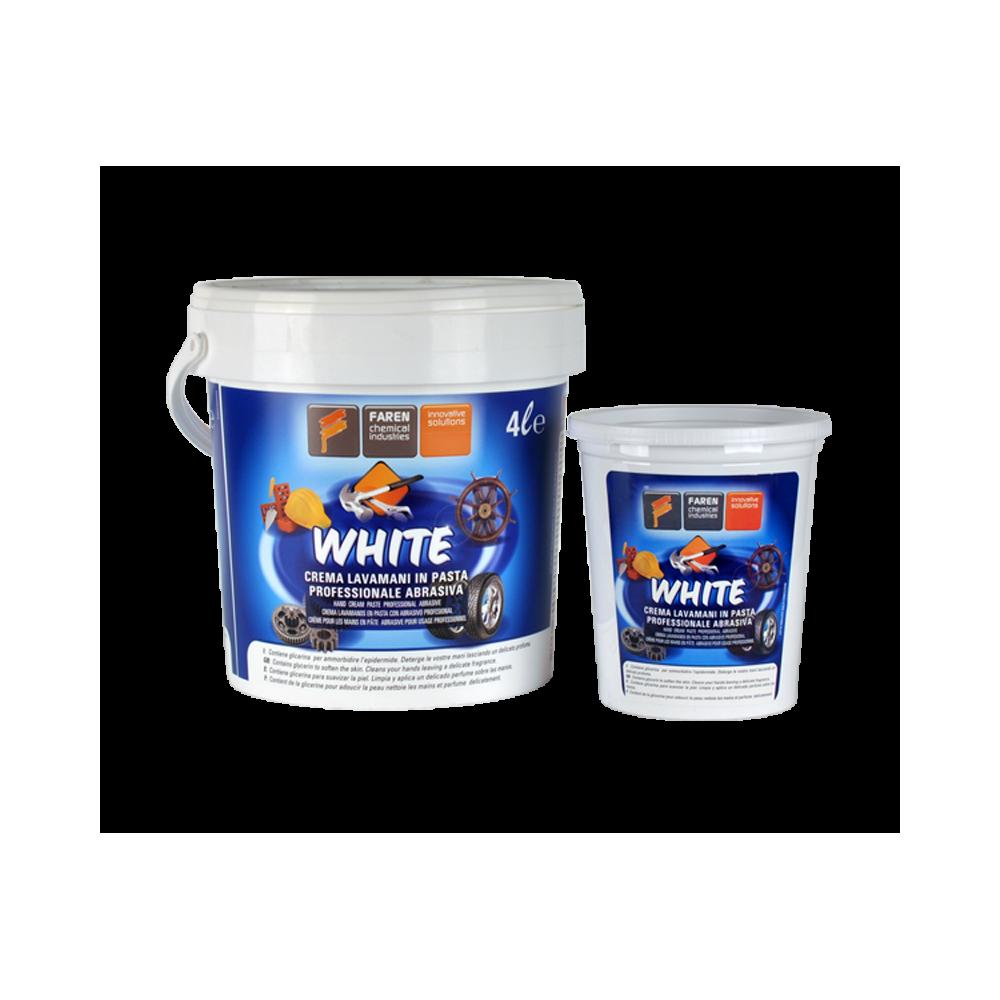 WHITE - Lavamani in pastacrema bianca - FAREN - larosametalli.it
