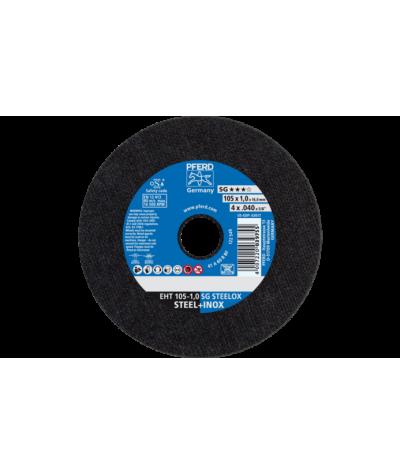 DISCO DA TAGLIO EHT 105-1,0 SG STEELOX/16,0 per smerigliatrice angolare - PFERD