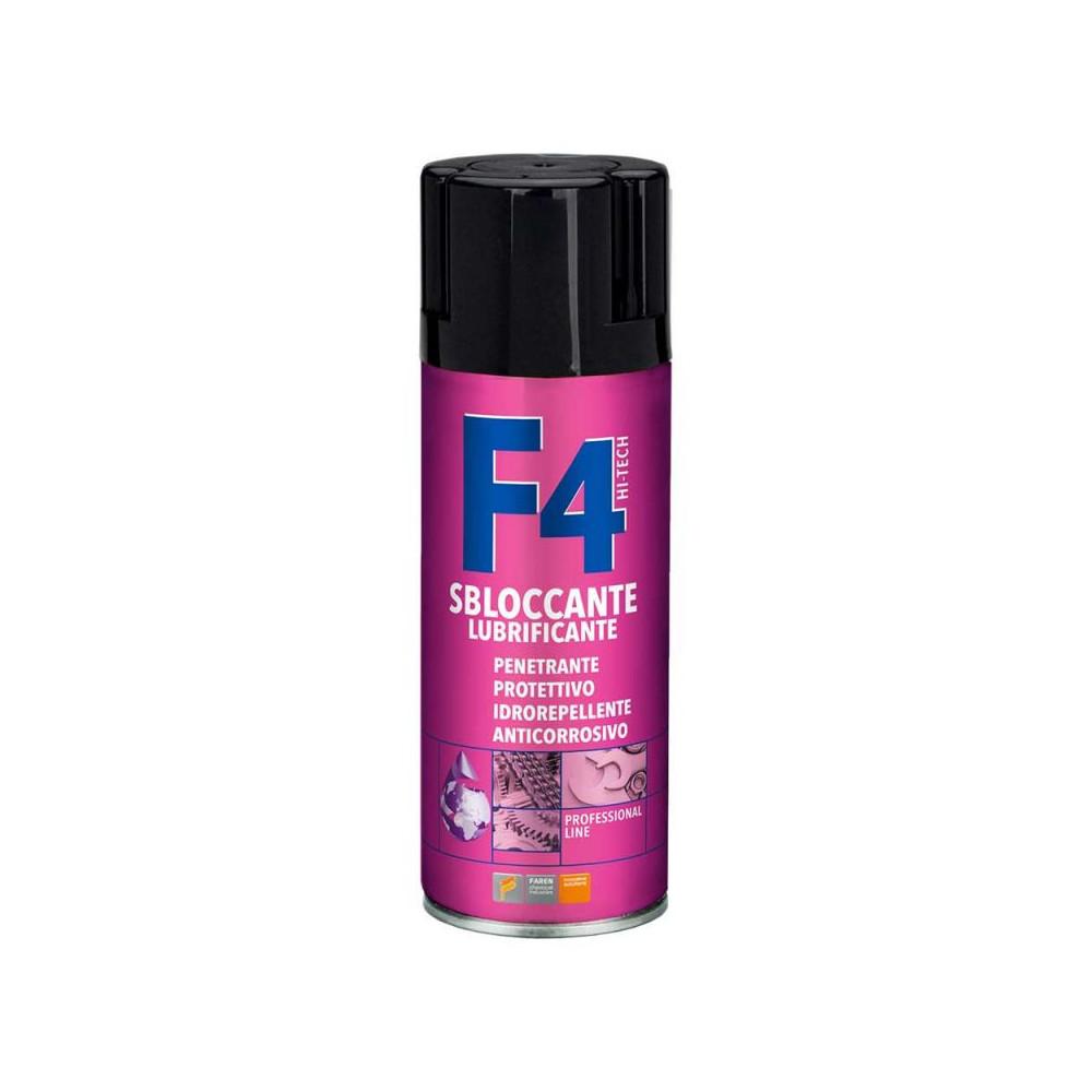 F4 - SBLOCCANTE MULTIUSO - Lubrificante Spray - FAREN - larosametalli.it