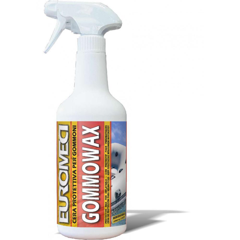 EUROMECI GOMMOWAX - Cera Rigenerante per Gommoni - Brava - pulizia barche - larosametalli.it