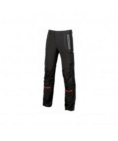Pantaloni da lavoro U-Power Pit Black Carbon