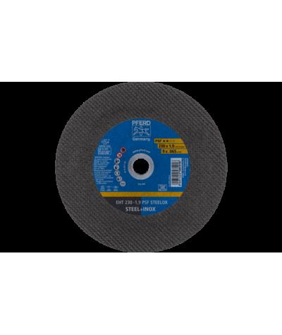 DISCO DA TAGLIO EHT 230-1,9 PSF STEELOX per smerigliatrice angolare - PFERD