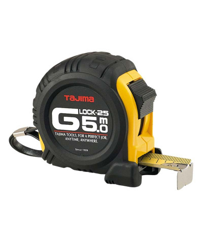 Flessometro G-Lock Corazzato Tajima 5mt x 25 mm