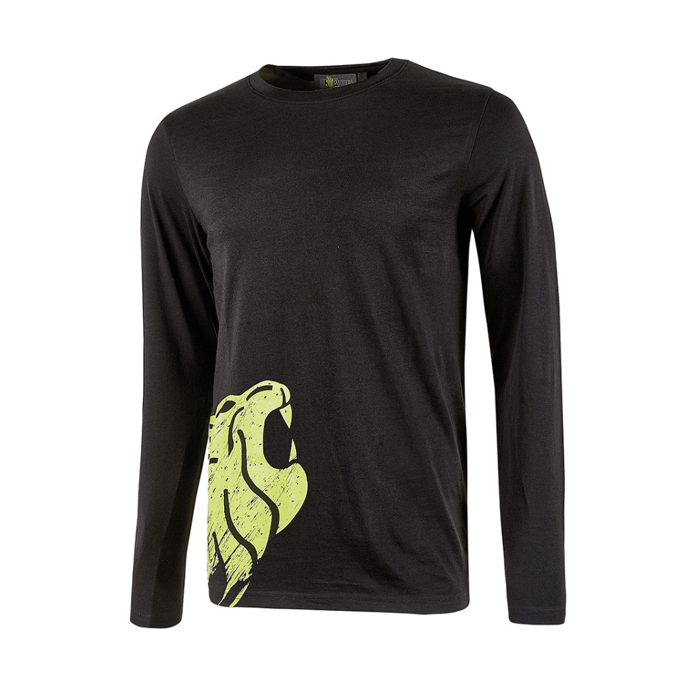 T-shirt da lavoro a manica lunga U-Power Alien Black Carbon