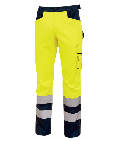 Pantalone lungo U-Power Light Yellow Fluo
