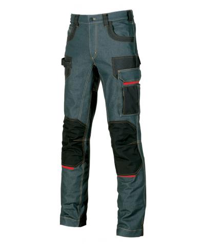 Jeans lungo U-Power Platinum Button