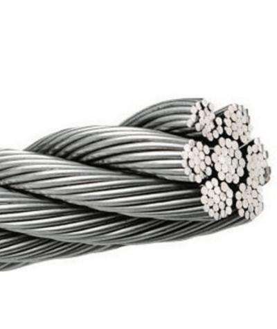 Cavo inox 133 fili aisi 316 / A4 lunghezza 1 mt - Disponibile in più dimensioni