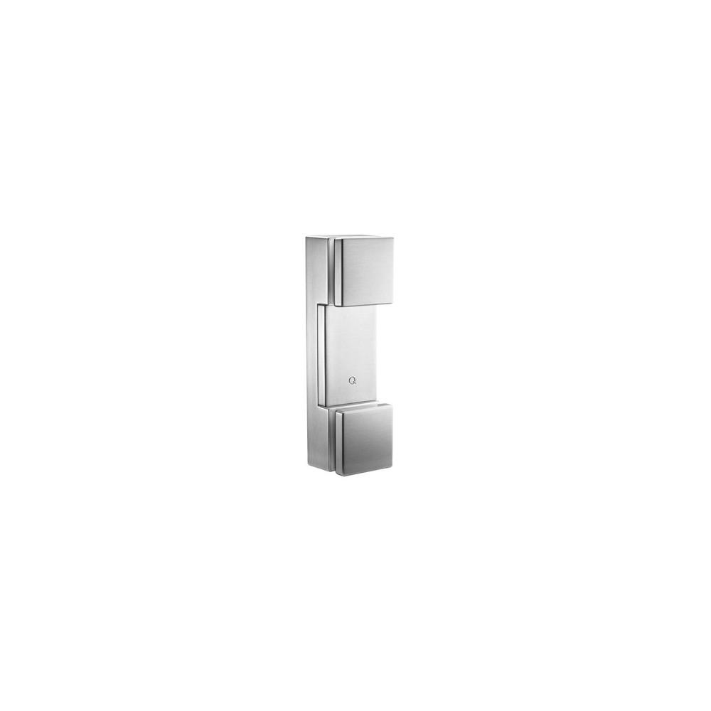 Base per balaustra - fissaggi vetro doppia borchia modo 4762