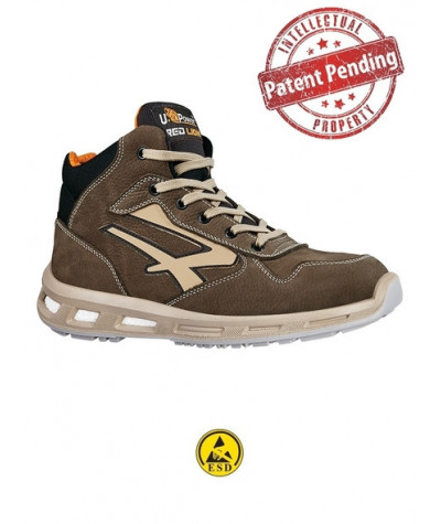 Scarpe antinfortunistiche alte U-Power CARTER - S3 CI SRC ESD