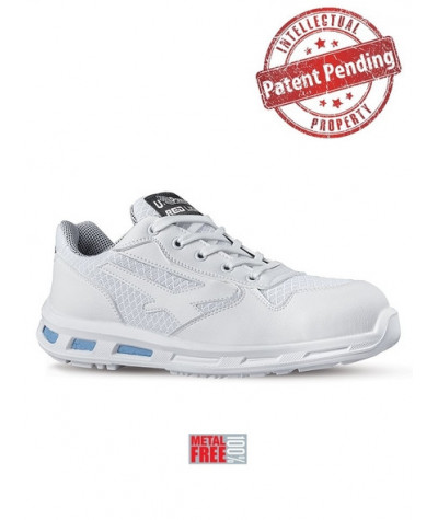 Scarpe antinfortunistiche bianche metal free U-Power JUNE - S1 SRC