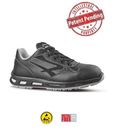 Scarpe antinfortunistiche nere metal free U-Power LINKIN - S3 CI SRC ESD